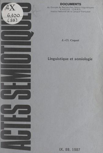 Linguistique et sémiologie