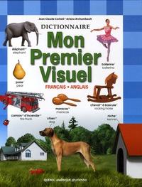 Jean-Claude Corbeil et Ariane Archambault - Mon premier visuel français-anglais.