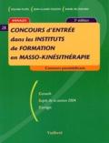Jean-Claude Coulon et Rafael de Guevara - Concours d'entrée en instituts de formation en masso-kinésithérapie.