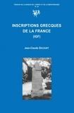 Jean-Claude Decourt - Inscriptions grecques de la France (IGF).