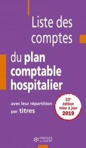 Ucareoutplacement.be Liste des comptes du plan comptable hospitalier avec leur répartition par titres Image