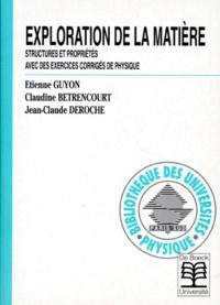 Jean-Claude Deroch et Etienne Guyon - .
