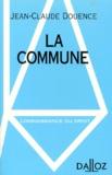 Jean-Claude Douence - La commune.