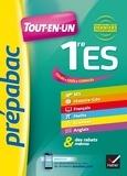 Jean-Claude Drouin - Prépabac Tout-en-un 1re ES - toutes les matières de la Première ES.