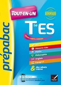 Téléchargement gratuit des livres les plus vendus Prépabac Tout-en-un Tle ES  - tout pour réviser le Bac ES 9782401042001