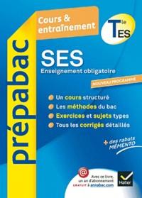 Jean-Claude Drouin et Sylvain Leder - Sciences économiques et sociales Tle ES enseignement obligatoire.