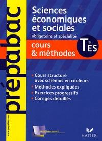 Jean-Claude Drouin - Sciences économiques et sociales Tle ES - Cours et méthodes.