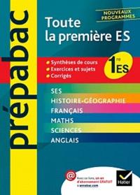 Jean-Claude Drouin et Christophe Clavel - Toute la 1e ES.