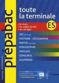 Jean-Claude Drouin et Elisabeth Brisson - Toute la terminale ES.