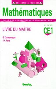 Jean-Claude Fatta et Gérard Champeyrache - .