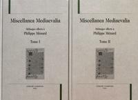 Jean-Claude Faucon et Alain Labbé - Miscellanea Mediaevalia - Mélanges offerts à Philippe Ménard, 2 volumes.