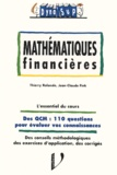 Jean-Claude Fink et Thierry Rolando - Mathématiques financières.