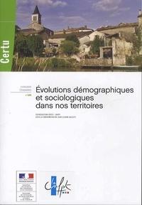 Jean-Claude Gallety - Evolutions démographiques et sociologiques dans nos territoires.