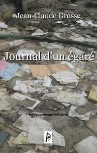 Jean-Claude Grosse - Journal d'un égaré.