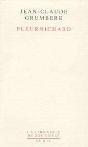 Téléchargements gratuits de livres auido Pleurnichard (French Edition)  par Jean-Claude Grumberg 9782021012613
