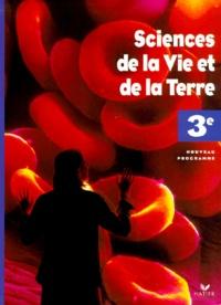 Jean-Claude Hervé et Michel Le Bellégard - Sciences de la Vie et de la Terre 3e.