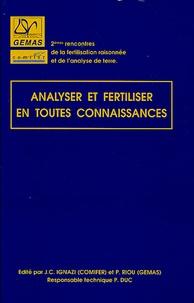Jean-Claude Ignazi - Analyser et fertiliser en toutes connaissances.