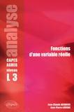 Jean-Claude Jacquens et Jean-Pierre Lavigne - Fonctions d'une variable réelle - Analyse CAPES/Agreg niveau L3.