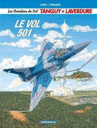Jean-Claude Laidin et  Fernandez - Les Chevaliers du Ciel Tanguy et Laverdure Tome 3 : Le vol 501.