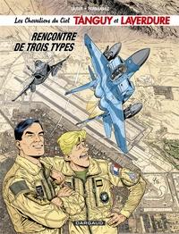 Jean-Claude Laidin et  Fernandez - Les Chevaliers du Ciel Tanguy et Laverdure Tome 5 : Rencontre de trois types.