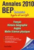 Jean-Claude Landat - Annales BEP Industriel Sujets et corrigés.