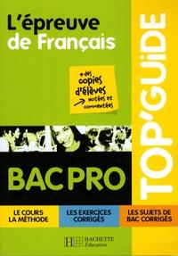 L'épreuve de Français Bac Pro - Jean-Claude Landat | Showmesound.org