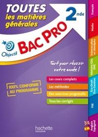 Jean-Claude Landat et Bernard Blanc - Toutes les matières générales BAC PRO 2de.