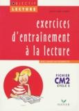 Jean-Claude Landier - Lecture CM2 Cycle 3 - Exercices d'entrainement avec cahier autocorrectif.