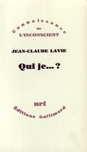 Jean-Claude Lavie - Qui je... ?.
