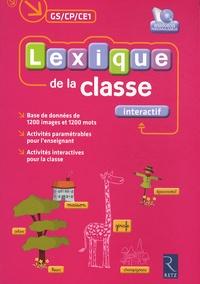 Accentsonline.fr Lexique de la classe interactif GS/CP/CE1 Image