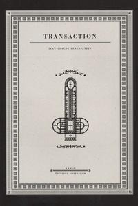 Jean-Claude Lebensztejn - Transaction - Fleurs de rêve II.