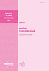 Jean-Claude Lebossé - CAPET section Technologie - Concours externe.