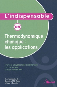 Era-circus.be L'indispensable en Thermodynamique chimique : les applications Image