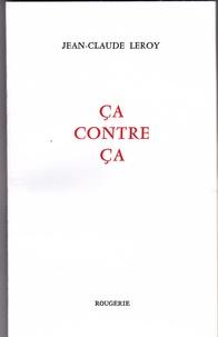 Jean-Claude Leroy - Ca contre ça.