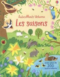 Jean-Claude et Holly Bathie - Les saisons - Avec plus de 200 autocollants.