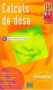 Histoiresdenlire.be Calculs de dose. Annales Image