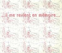 Jean-Claude Loubières - Il me revient en mémoire....