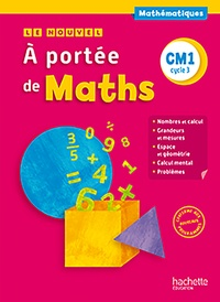 Jean-Claude Lucas et Janine Lucas - Maths CM1 Cycle 3 A portée de Maths.