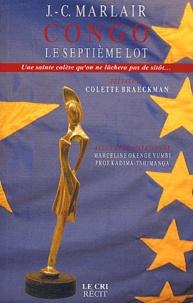 Jean-Claude Marlair - Congo - Le septième lot.