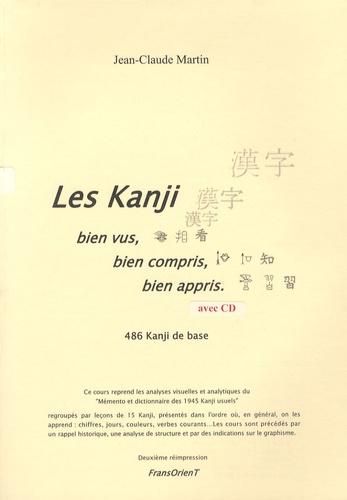 Jean-Claude Martin - Les kanji - Bien vus, bien compris, bien appris. 1 CD audio