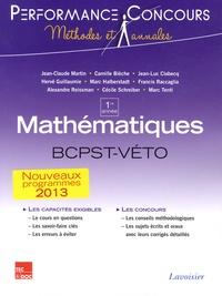 Jean-Claude Martin - Mathématiques 1re année BCPST-VETO.