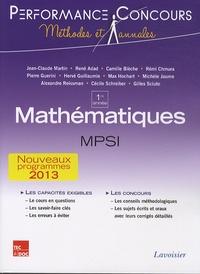 Jean-Claude Martin - Mathématiques MPSI 1re année.