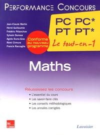 Jean-Claude Martin et Hervé Guillaumie - Maths 2e année PC PC* - PT PT*.