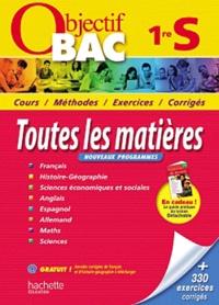 Jean-Claude Martin et Florence Nielly - Toutes les matières 1e S - Nouveaux programmes.