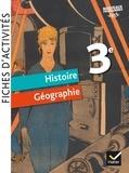 Jean-Claude Martinez et Corinne Chastrusse - Fiches d'activités Histoire-Géographie 3e.