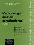 Jean-Claude Masclet et Jean-Paul Valette - Méthodologie du droit constitutionnel.