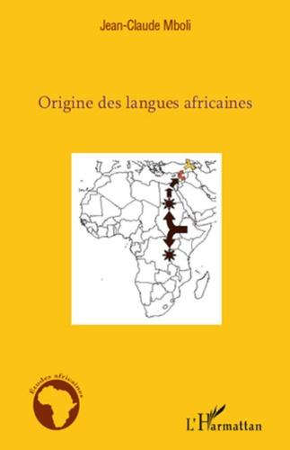 Origine des langues africaines
