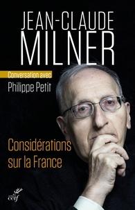 Considérations sur la France.