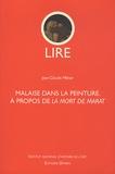 Jean-Claude Milner - Malaise dans la peinture - A propos de La Mort de Marat.