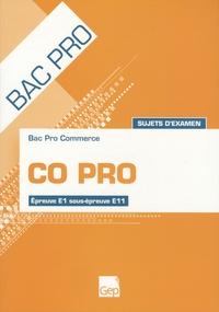 CO PRO Bac pro commerce - Sujets dexamen Epreuve E1 sous-épreuve E11.pdf